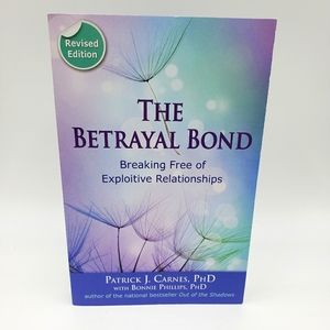 The Betrayal Bond Paperback Book Carnes